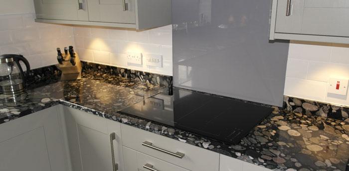 Worktop Surface Repairs And Restoration Plymouth Devon Cornwall - Burn marks granite countertop